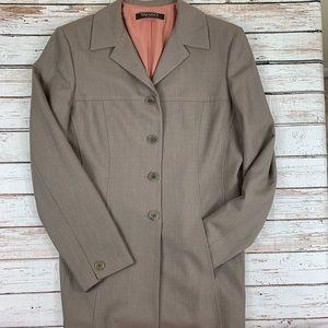 Tahari Wool Jacket Fully Lined Size 10
